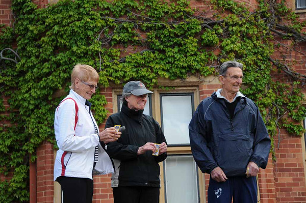 NE Champion Sue Healy wins double header, October2013